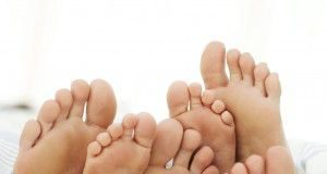 soles-of-a-couple-and-their-child