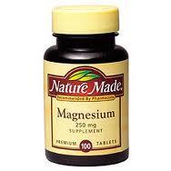Es bueno tomar suplementos de magnesio