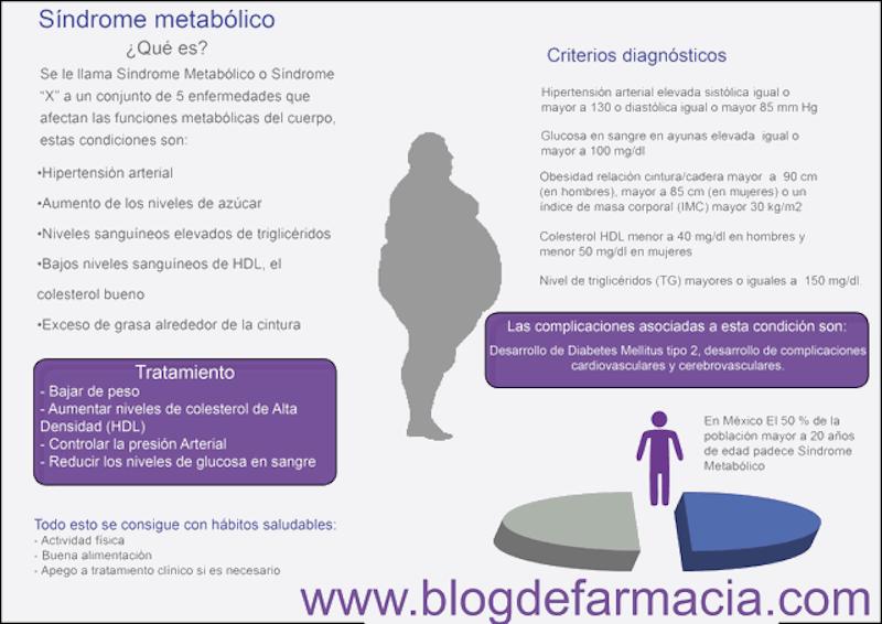 Síndrome metabolico | Blog de farmacia