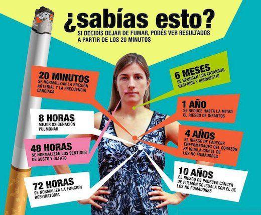 conseguir al dejar de fumar