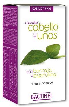 Bactinel Cabello y Uñas 60 cápsulas