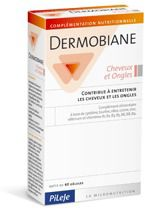 Pileje Dermobiane Cabello y Uñas 40 cápsulas
