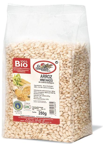 el_granero_arroz_integral_hinchado_bio_250g