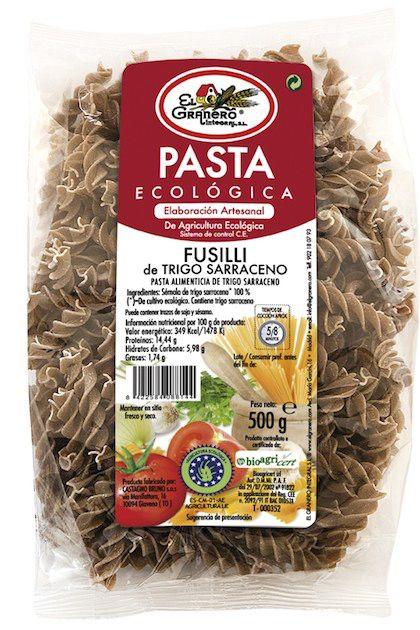 el_granero_fusilli_de_trigo_sarraceno_bio_250g
