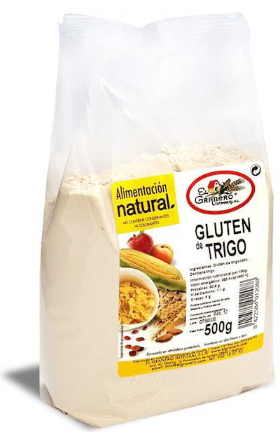 Gluten de Trigo 500g El Granero Integral