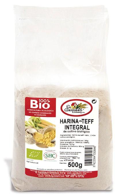El Granero Harina Teff Integral Bio 500g