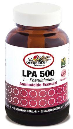 el_granero_lpa_l-phenilalanina_60_capsulas