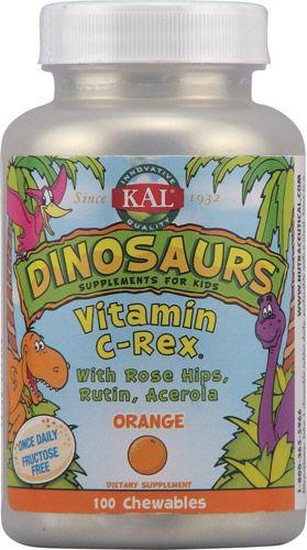 kal-dinosaurs-vitamin-c-rex-orange-flavor-021245564102