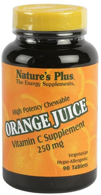 Nature's Plus Orange Juice C 250mg 90 masticables - Blog