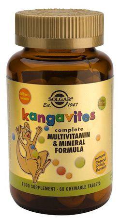 solgar_kangavites_multitropical_60_comprimidos_masticables