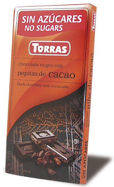 torras_chocolate_negro_con_pepitas_de_cacao_sin_azucar_75g