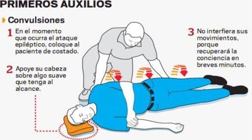 Como actuar ante una crisis de epilepsia