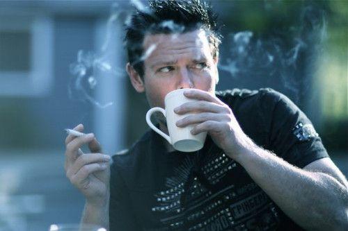 cafe fumar