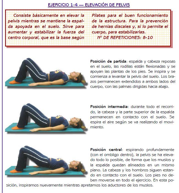 ejercicio hernia discal