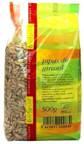 Bio Spirit Pipas de Girasol Bio 500g