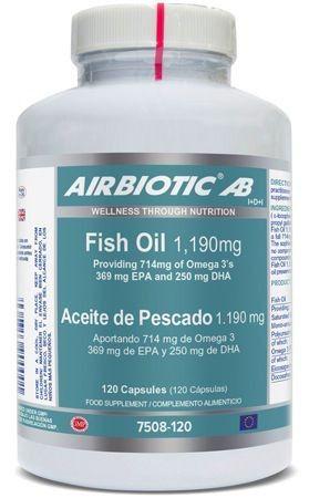 Airbiotic Aceite de Pescado 120 cápsulas
