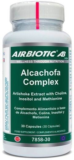 Airbiotic Alcachofa Complex 30 cápsulas