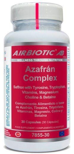 Airbiotic Azafrán Complex 30 cápsulas