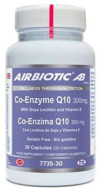 Airbiotic Coenzima Q10 300mg 30 cápsulas