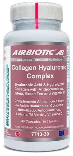 Airbiotic Collagen Hyaluronic Complex 30 cápsulas