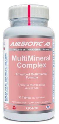 Airbiotic Multimineral Complex 30 comprimidos