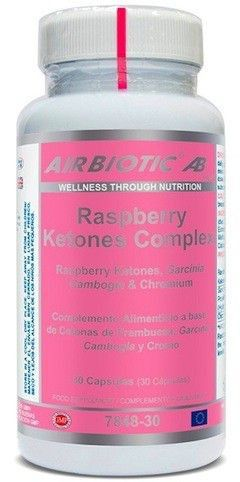 Airbiotic Raspberry Ketones Complex 30 cápsulas