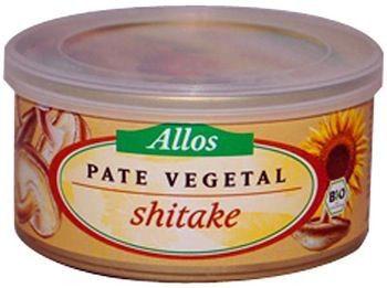 Allos Paté de Shiitake Bio 125g