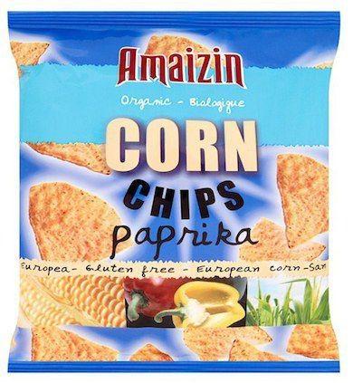 Amaizin Chips Maíz con Paprika Bio 75g