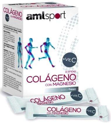 Ana Maria Lajusticia Colágeno Magnesio Vitamina C Fresa AML Sport