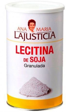 Ana Maria Lajusticia Lecitina de Soja Granulada 500g