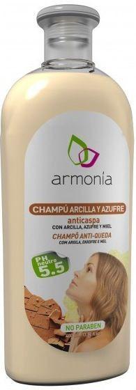 Armonia Champú de Arcilla y Azufre Anticaspa 400ml