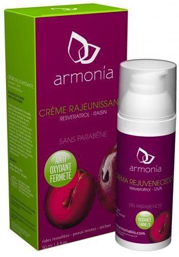 Armonia Crema Rejuvenecedora Reveratrol-Uva BIO 50g