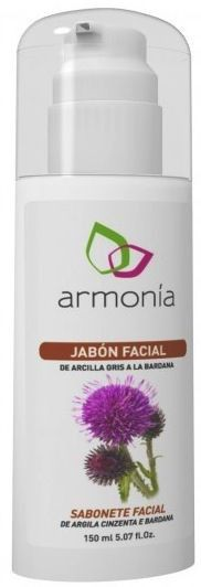 Armonia Jabón Facial Arcilla Gris 150g