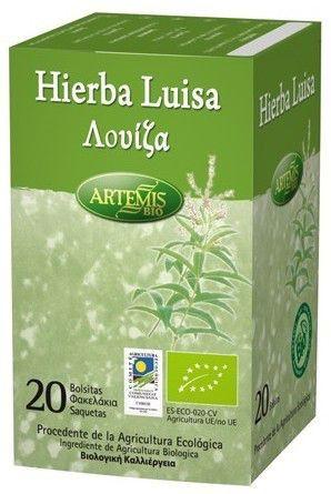 Artemis Infusión de Hierba Luisa Bio 20 filtros