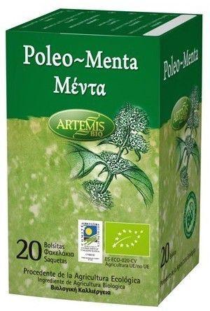 Artemis Infusión de Poleo Menta Bio 20 filtros