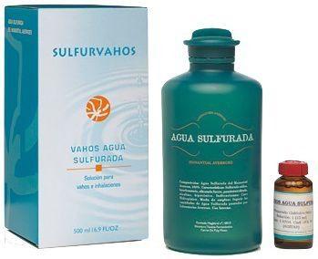 Averroes Vahos Agua Sulfurada 25ml+500ml