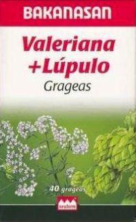 Bakanasan Valeriana + Lúpulo 40 grageas