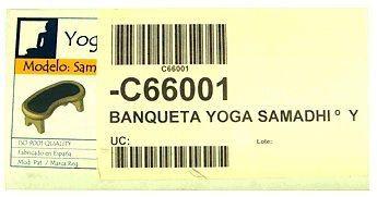 Yogaconfort Banqueta Yoga Samadhi