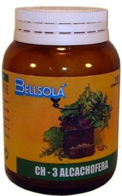 Bellsola Alcachofera CH03 100 comprimidos