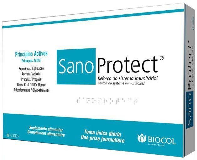 Biocol Sano Protect 20 ampollas