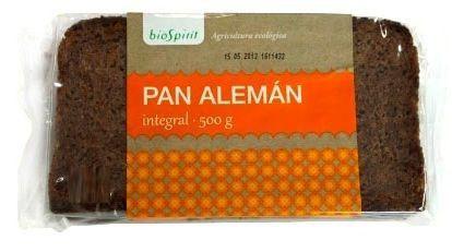 Bio Spirit Pan Alemán Integral Bio 500g