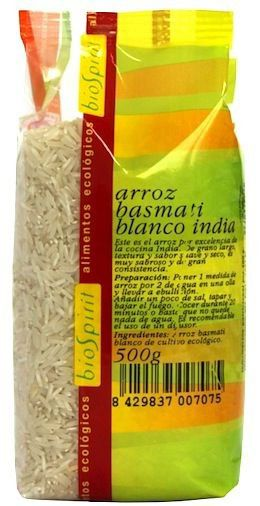 Bio Spirit Arroz Basmati Blanco India Bio 500g