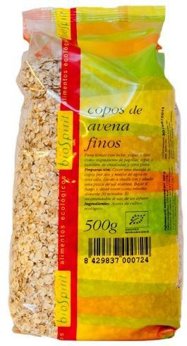 Bio Spirit Copos de Avena Finos Bio 500g