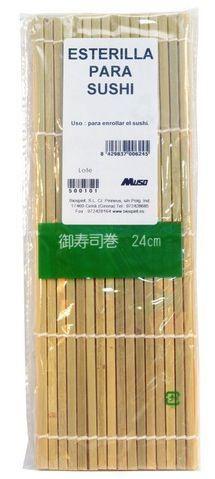 Bio Spirit Esterilla para Sushi Bambú 24cm
