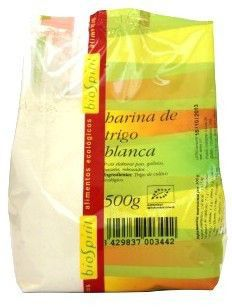 Bio Spirit Harina de Trigo Blanca Bio 500g