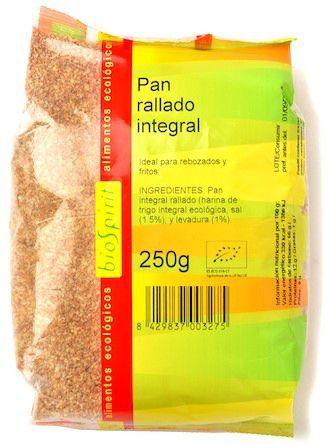 Bio Spirit Pan Rallado Integral Bio 250g