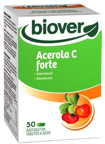 Biover Acerola C Forte 50 comprimidos masticables