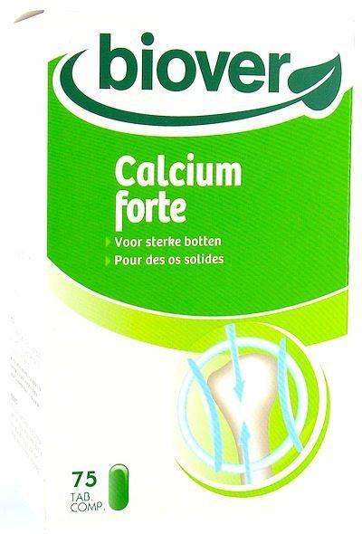 Biover Calcium Forte 75 comprimidos