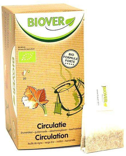 Biover Circulación Infusión 20 sobres