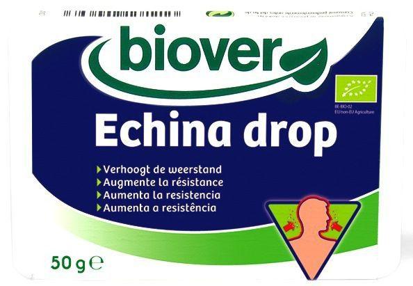 Biover Echina Drop 36 caramelos blandos